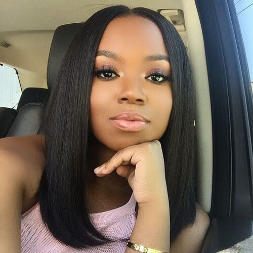 Best ideas about Medium Length Weave Hairstyles . Save or Pin 50 Pretty Sew in Hairstyles for Inspiration Now.