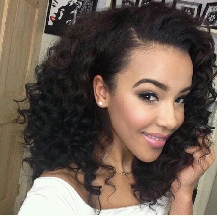 Best ideas about Medium Length Weave Hairstyles . Save or Pin 35 Simple But Beautiful Weave Hairstyles For Black Women Now.
