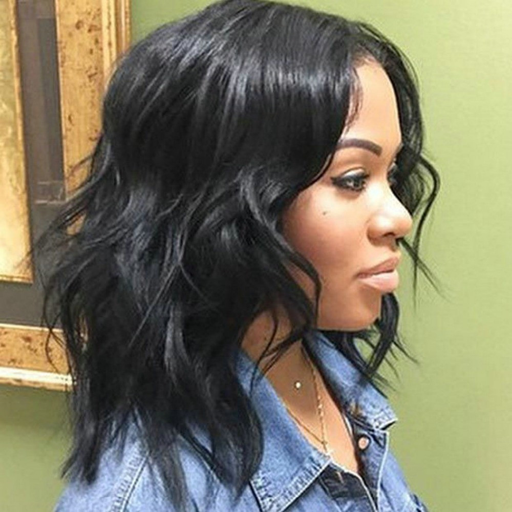 Best ideas about Medium Length Weave Hairstyles . Save or Pin 50 Best Medium Hairstyles For Black African American Women Now.