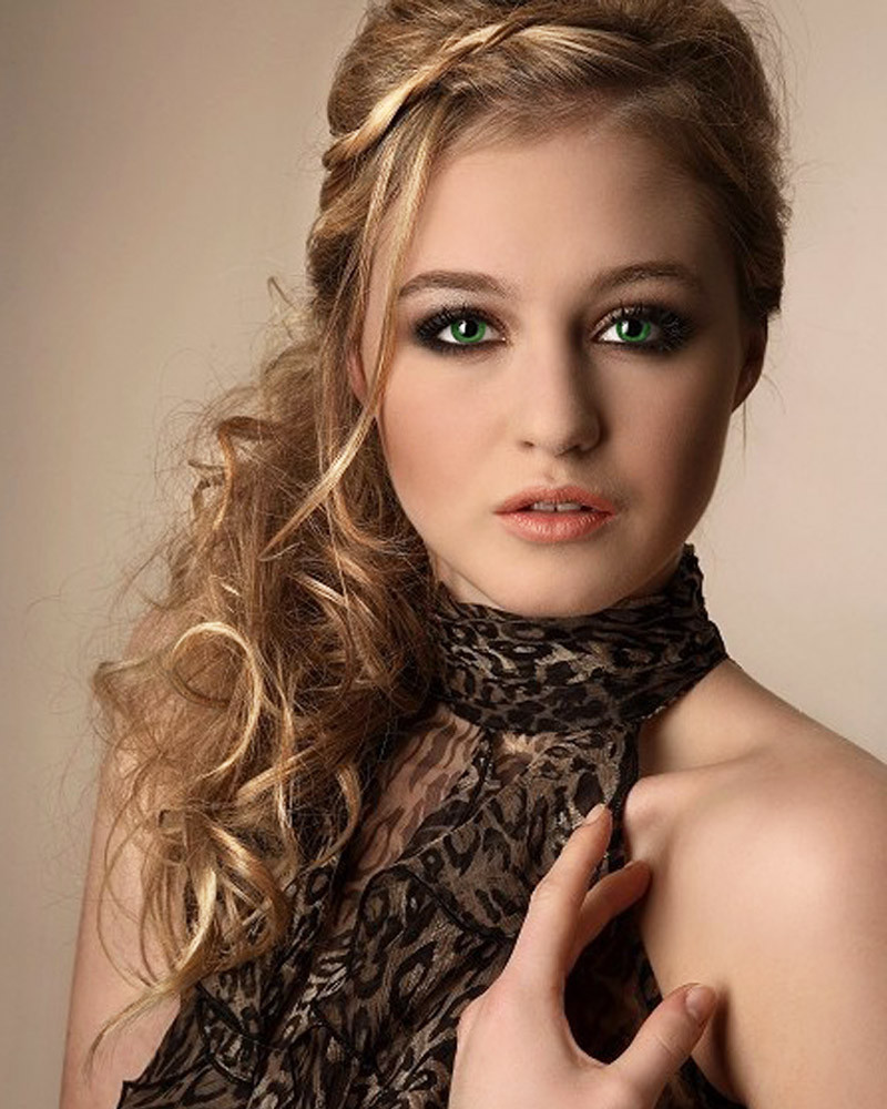 Best ideas about Medium Prom Hairstyles . Save or Pin Lionel Messi Blog Cool Medium Length Prom Hairstyle Wallpaper Now.