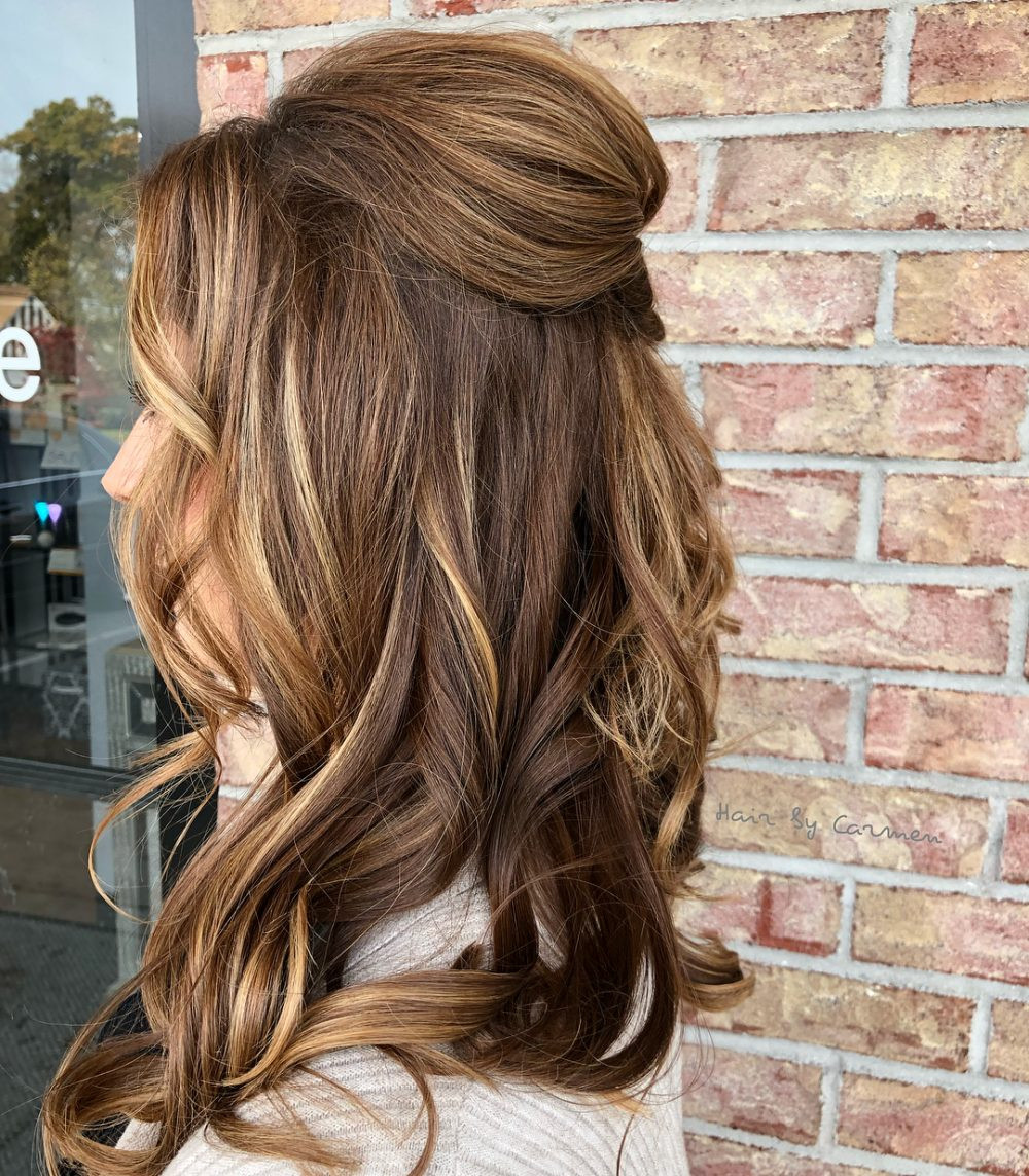 Best ideas about Medium Prom Hairstyles . Save or Pin 32 Cutest Prom Hairstyles for Medium Length Hair for 2019 Now.