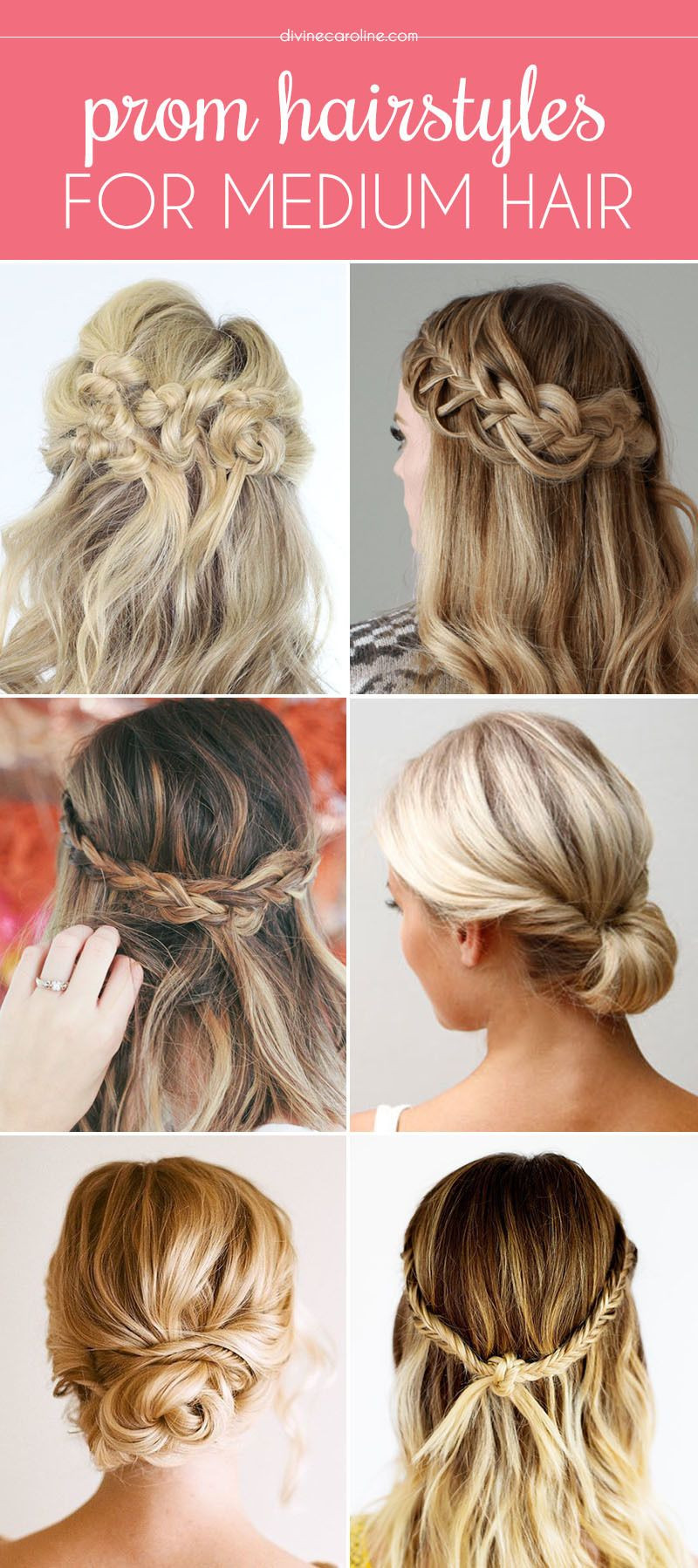 Best ideas about Medium Prom Hairstyles . Save or Pin Our Favorite Prom Hairstyles for Medium Length Hair Now.