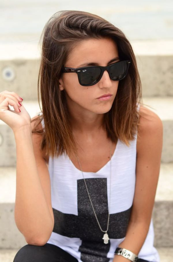 Best ideas about Medium Straight Haircuts . Save or Pin 22 Best Medium Hairstyles for Women 2019 – Shoulder Length Now.