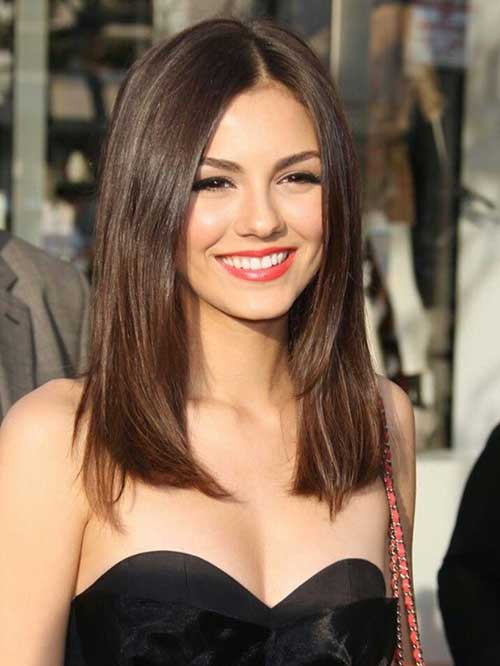 Best ideas about Medium Straight Haircuts . Save or Pin 20 Medium Long Length Hairstyles Now.