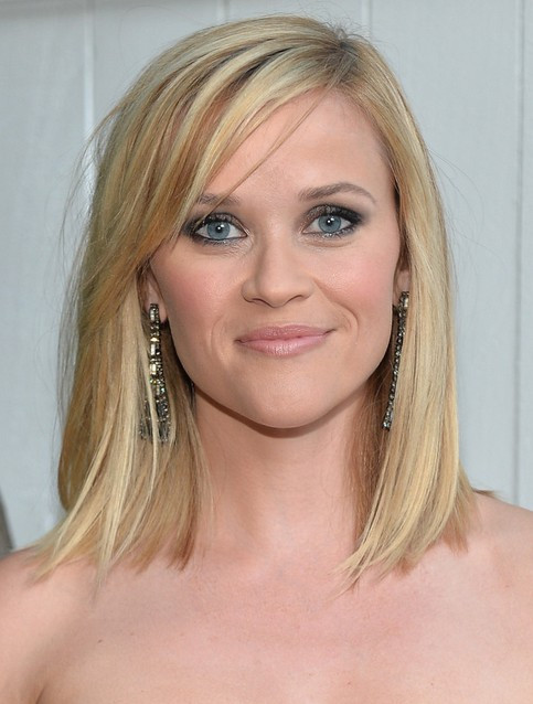 Best ideas about Medium Straight Haircuts . Save or Pin 23 Reese Witherspoon Hairstyles Reese Witherspoon Hair Now.