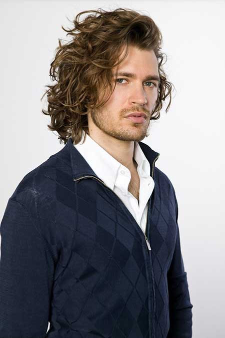 Best ideas about Men Long Wavy Hairstyles . Save or Pin Good Long Haircuts for Men Now.