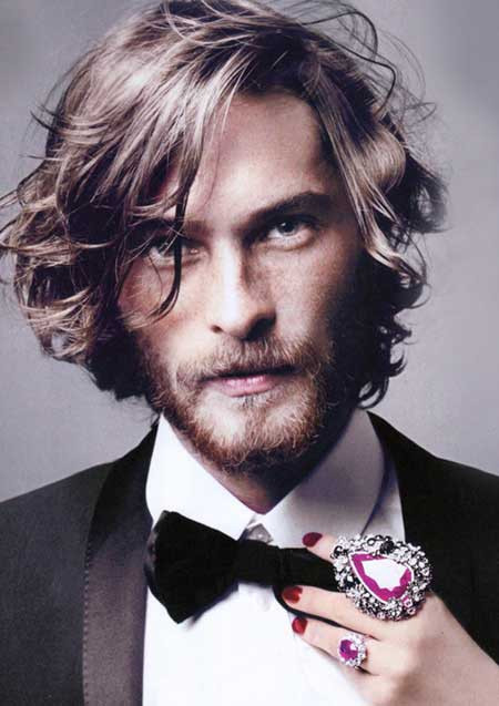 Best ideas about Men Long Wavy Hairstyles . Save or Pin Which hair straightness or curliness level do you find Now.