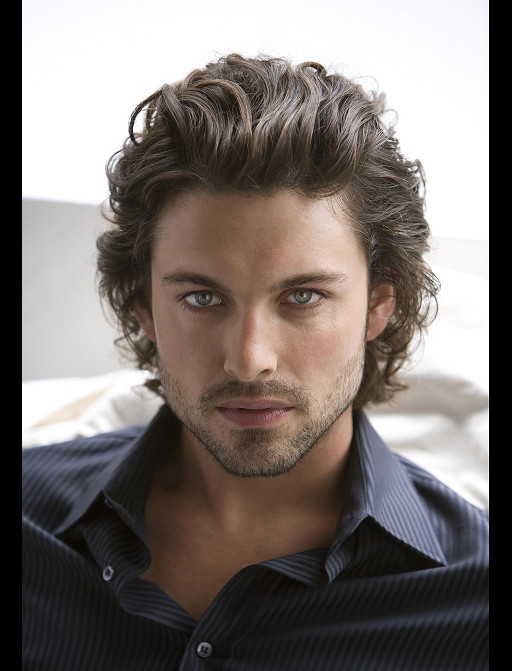 Best ideas about Men Long Wavy Hairstyles . Save or Pin Men Hairstyles Ideas Now.