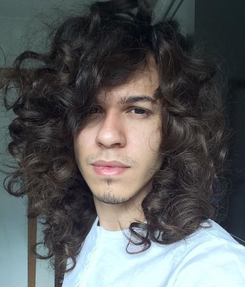 Best ideas about Men Long Wavy Hairstyles . Save or Pin 45 Best Curly Hairstyles and Haircuts for Men 2019 Now.