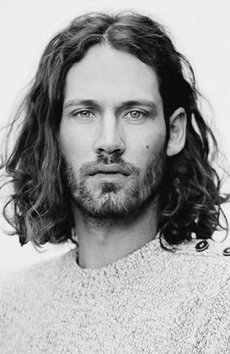 Best ideas about Men Long Wavy Hairstyles . Save or Pin 37 The Best Curly Hairstyles For Men Now.