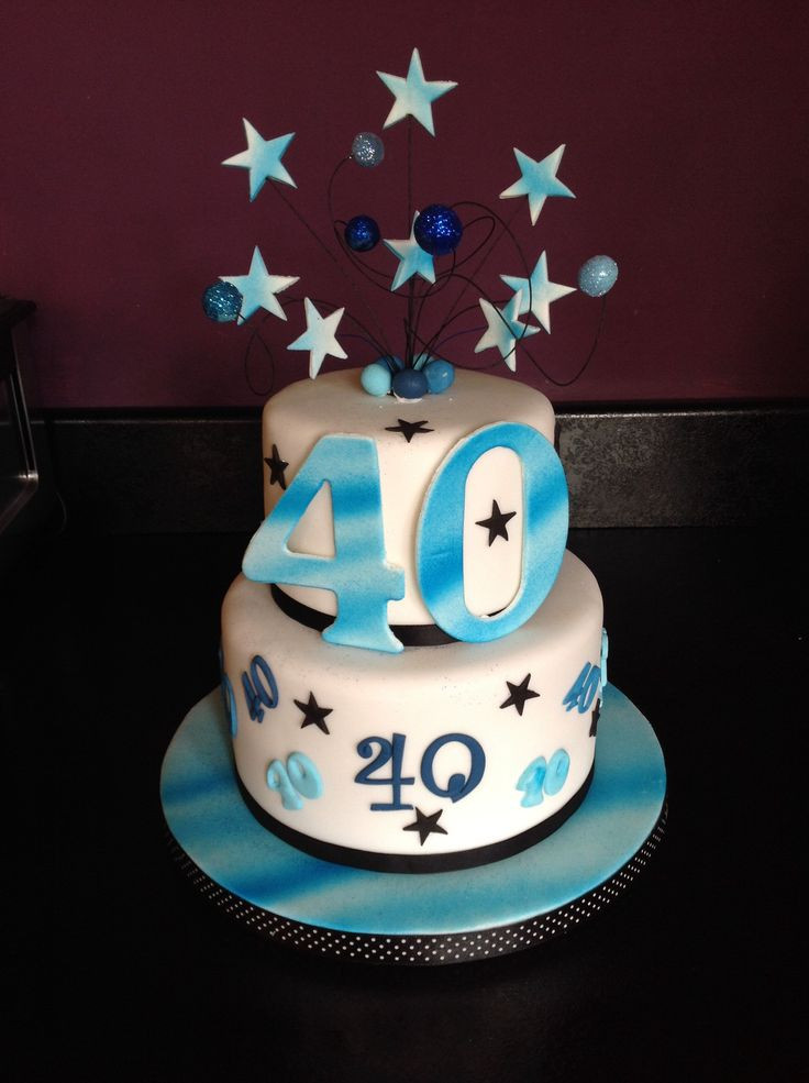 Best ideas about Mens 40th Birthday Cake . Save or Pin 40th birthday cake for a man Now.