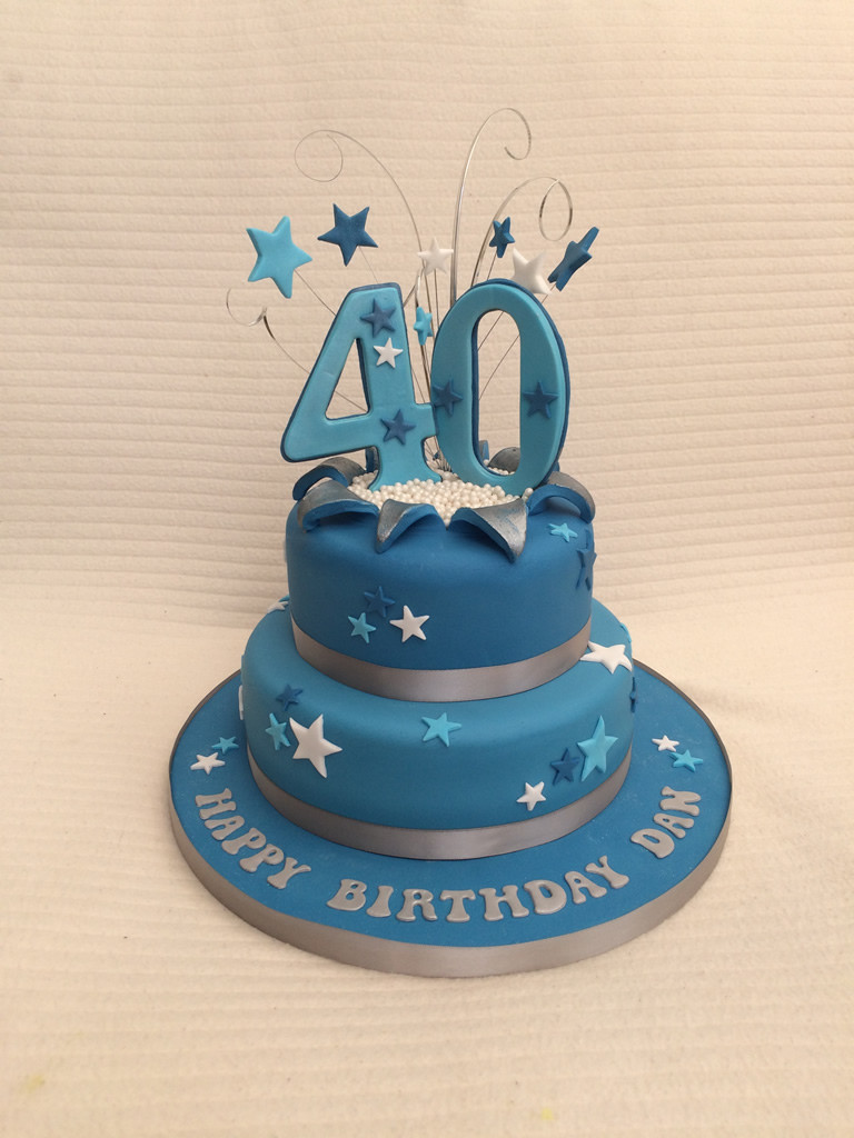 Best ideas about Mens 40th Birthday Cake . Save or Pin Mens 40th Birthday Cake – Cake Creations Now.