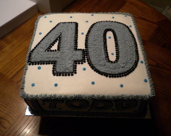 Best ideas about Mens 40th Birthday Cake . Save or Pin 40th Birthday Cake Ideas For Men Download Page Now.