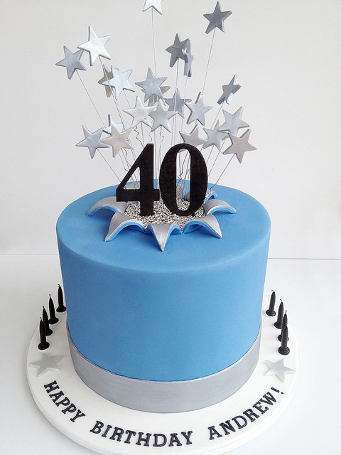 Best ideas about Mens 40th Birthday Cake . Save or Pin 40th birthday cakes for men pinterest Healthy Food Galerry Now.