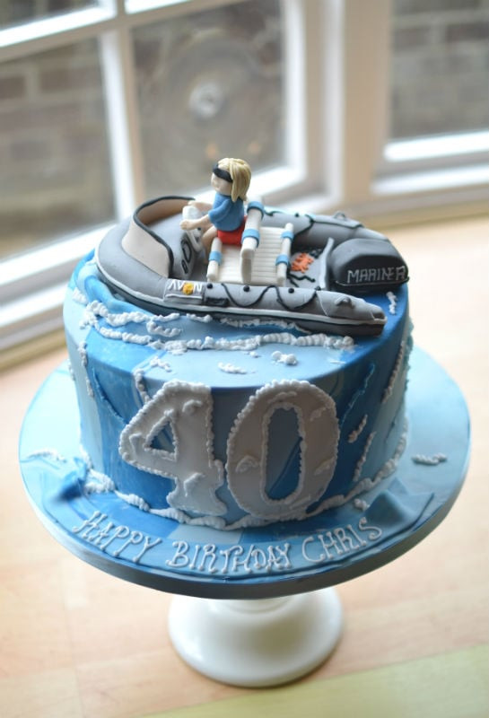 Best ideas about Mens 40th Birthday Cake . Save or Pin Birthday Cakes for Him Mens and Boys Birthday Cakes Now.