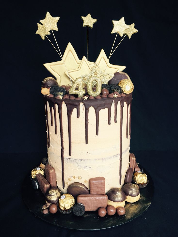 Best ideas about Mens 40th Birthday Cake . Save or Pin Best 25 40th birthday cakes ideas on Pinterest Now.