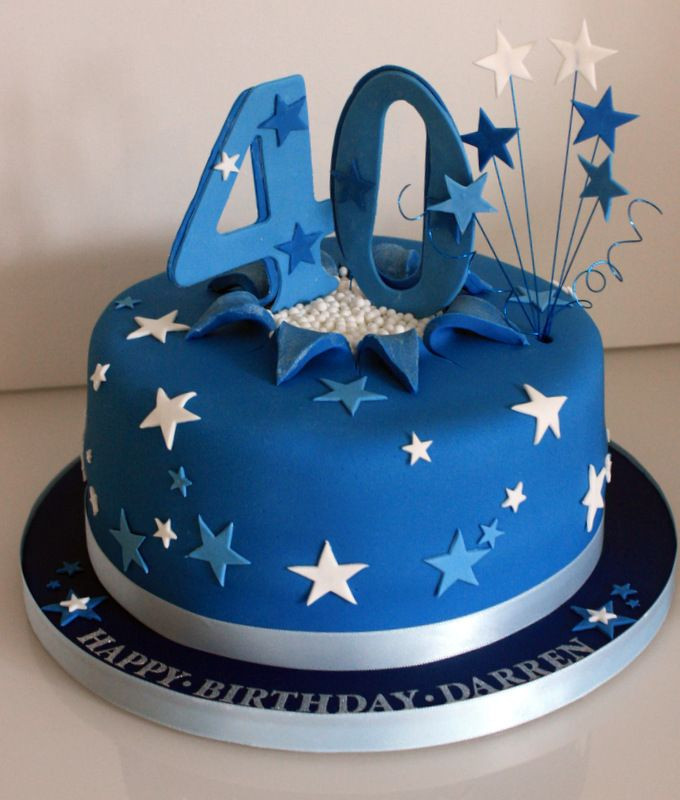 Best ideas about Mens 40th Birthday Cake . Save or Pin bithday cake Now.