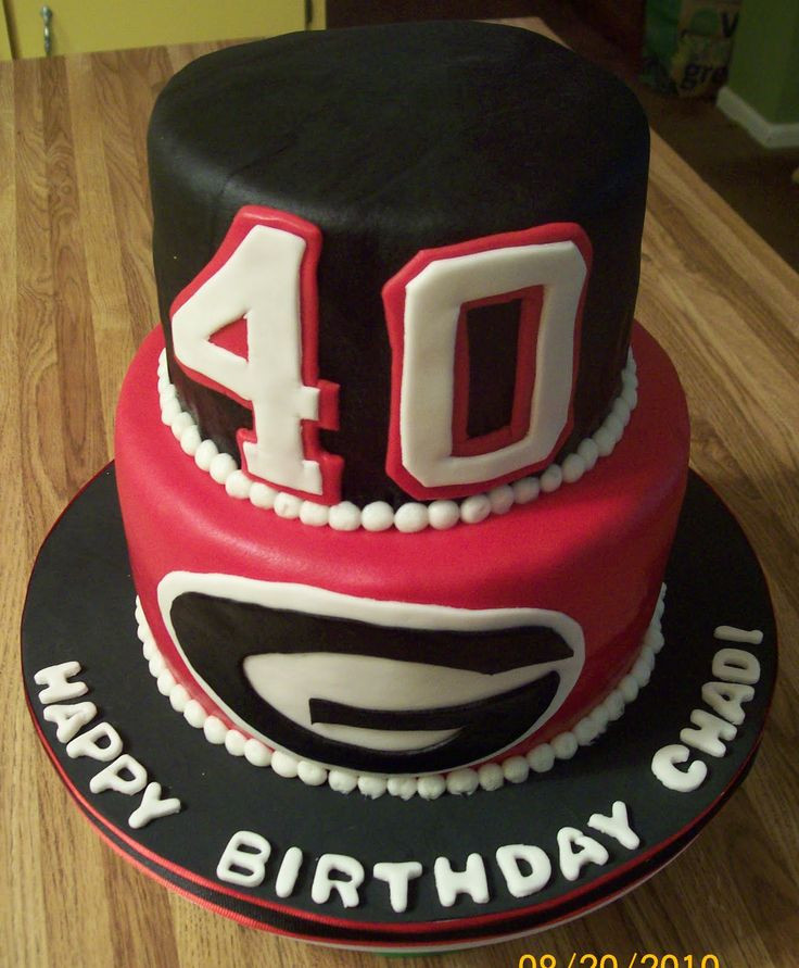 Best ideas about Mens 40th Birthday Cake . Save or Pin 40th birthday cake ideas for men Google Search Now.