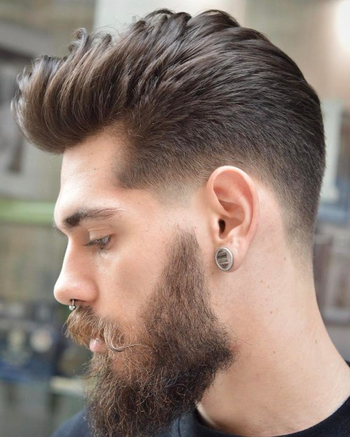 Best ideas about Mens Fade Hairstyle . Save or Pin 20 Top Men's Fade Haircuts That are Trendy Now Now.