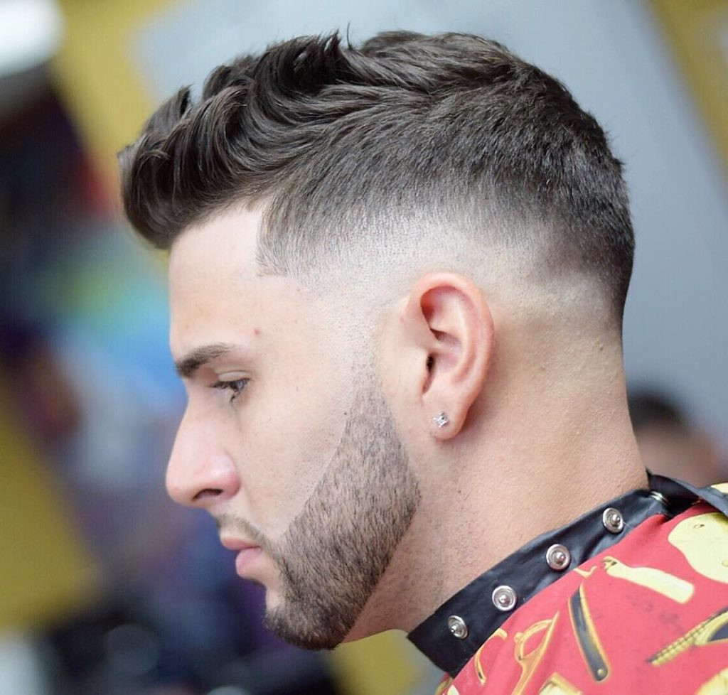 Best ideas about Mens Fade Hairstyle . Save or Pin 40 Top Taper Fade Haircut for Men High Low and Temple Now.