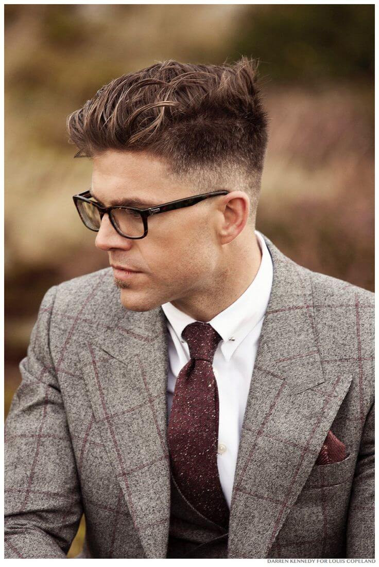 Best ideas about Mens Fade Hairstyle . Save or Pin 25 Amazing Mens Fade Hairstyles Part 24 Now.