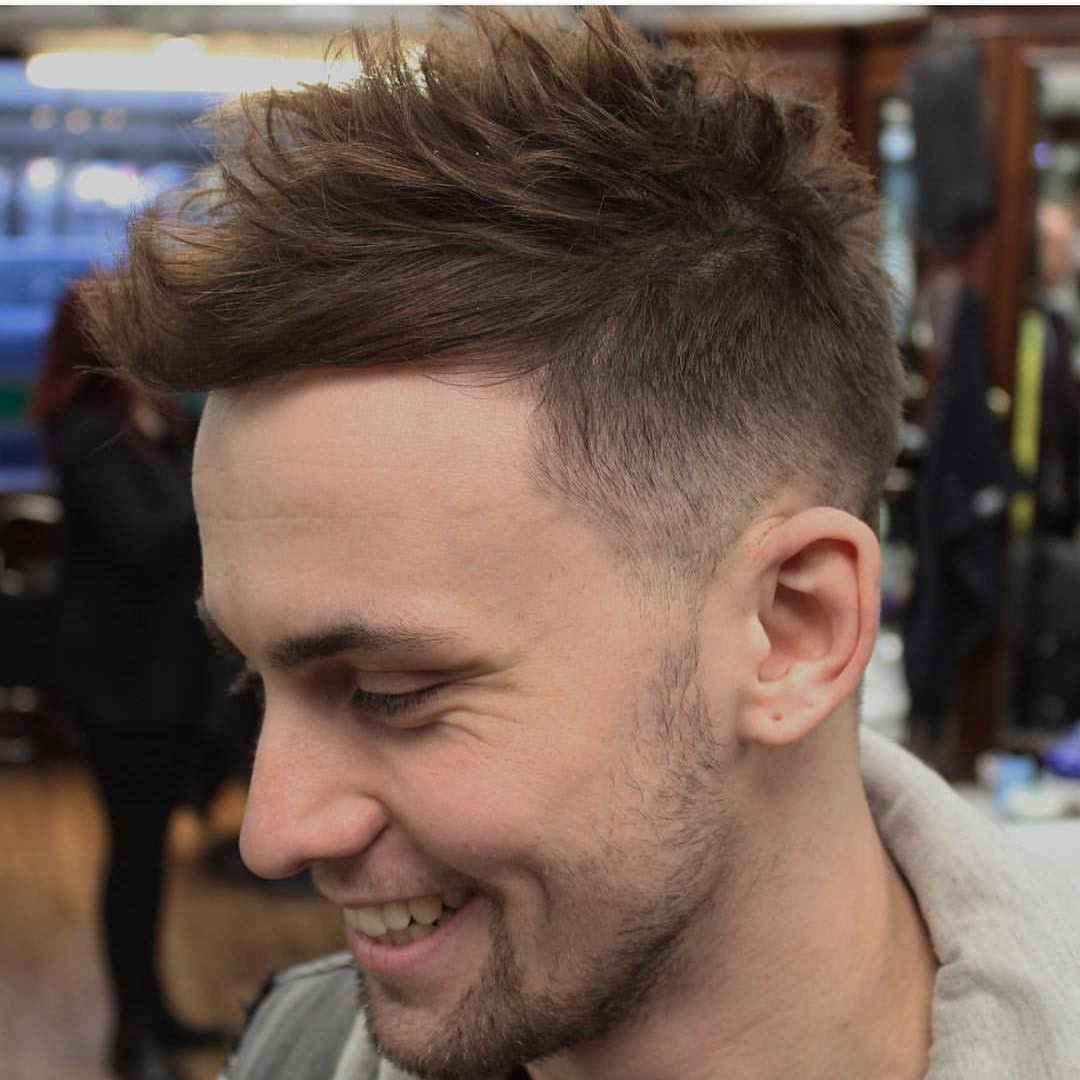 Best ideas about Mens Fade Hairstyle . Save or Pin Fade Haircut Black Men Hairstyles Now.
