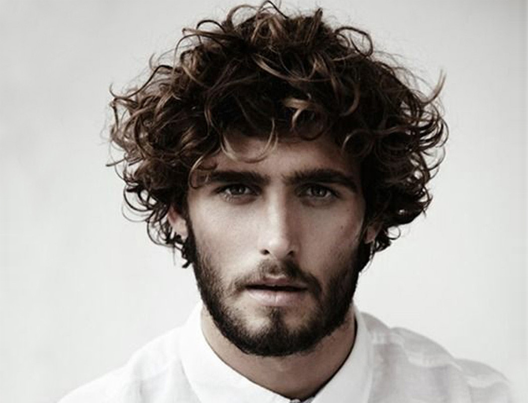 Best ideas about Mens Haircuts For Curly Hair . Save or Pin 55 Men s Curly Hairstyle Ideas s & Inspirations Now.