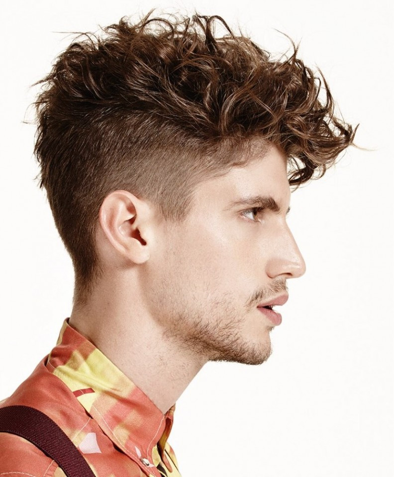 Best ideas about Mens Haircuts For Curly Hair . Save or Pin 96 Curly Hairstyle & Haircuts Modern Men s Guide Now.