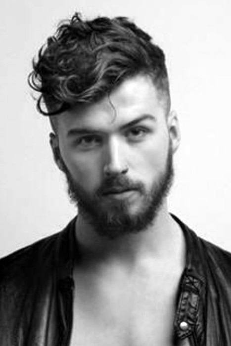 Best ideas about Mens Hairstyle Curly . Save or Pin 25 Curly Fade Haircuts For Men Manly Semi Fro Hairstyles Now.