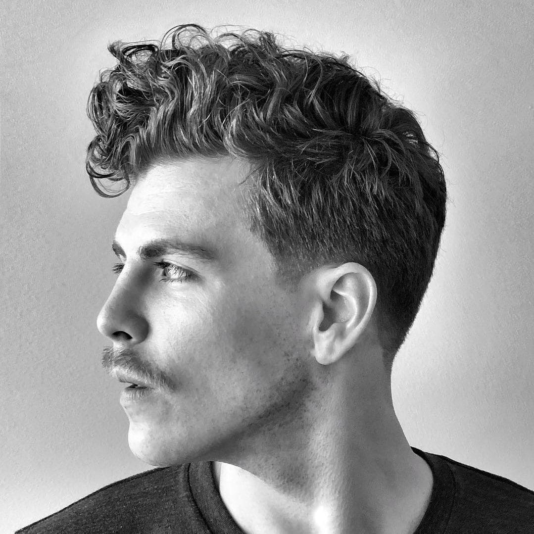 Best ideas about Mens Hairstyle Curly . Save or Pin The Best Curly Hair Haircuts Hairstyles For Men 2019 Guide Now.