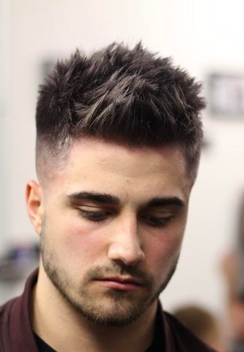 Best ideas about Mens Hairstyles 2019 . Save or Pin 22 Textured Spikes Hairstyles for Men 2018 2019 Now.