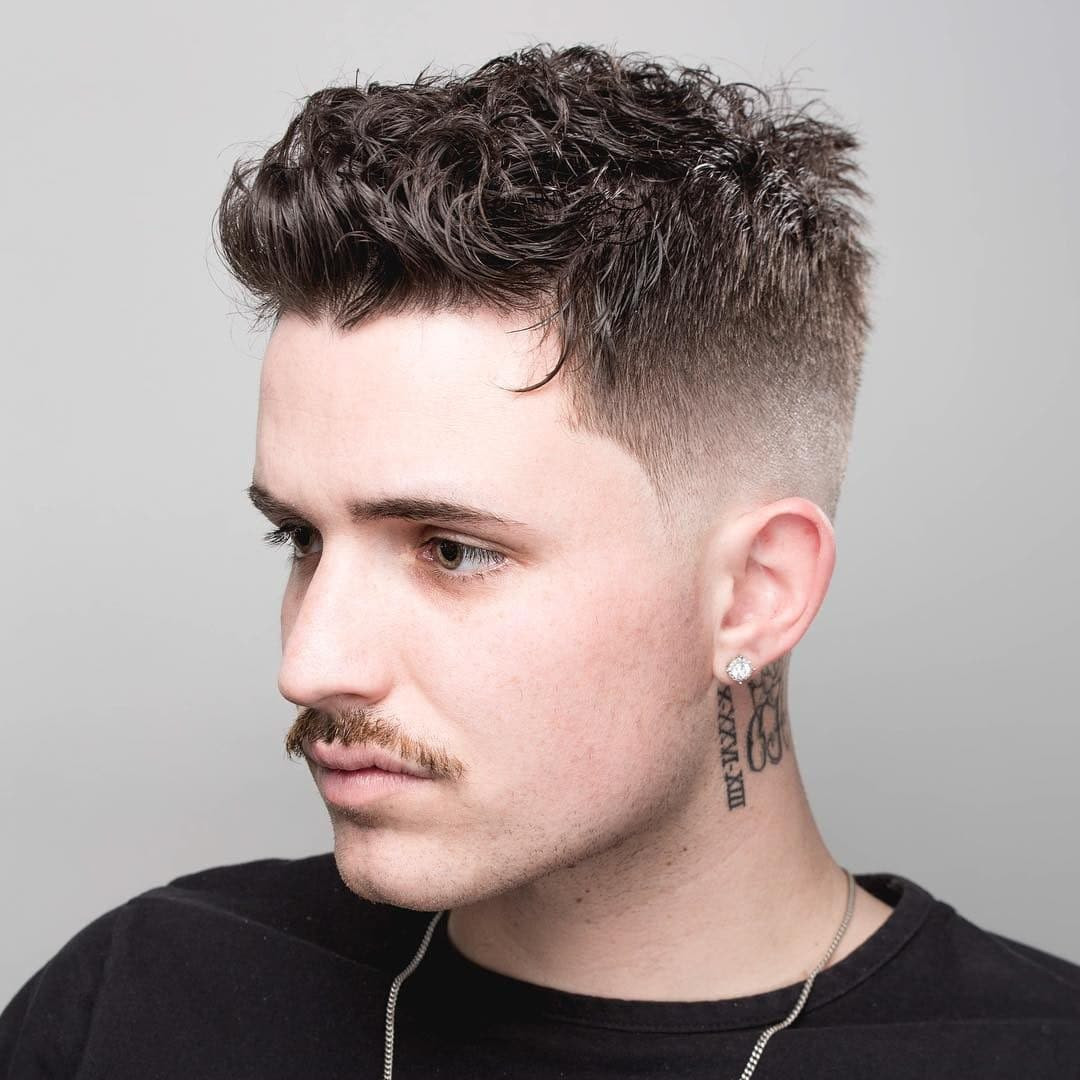 Best ideas about Mens Hairstyles For Curly Hair . Save or Pin The Best Short Haircuts For Men 2019 Update Now.