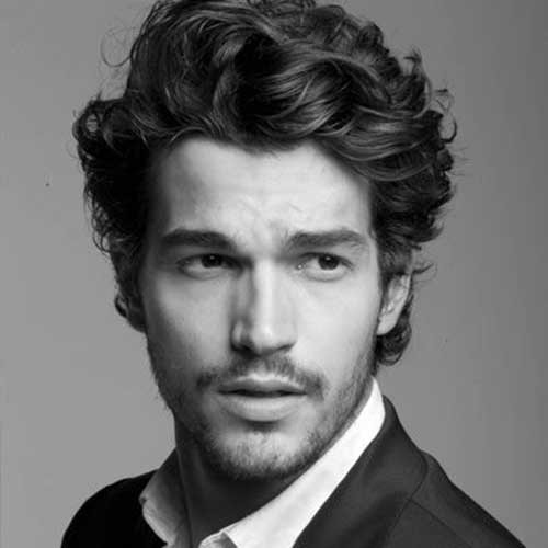 Best ideas about Mens Hairstyles For Curly Hair . Save or Pin 15 Curly Men Hair Now.