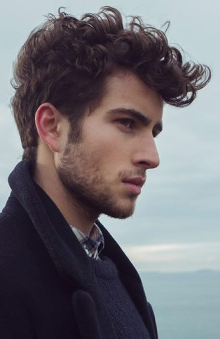 Best ideas about Mens Hairstyles For Curly Hair . Save or Pin Best 25 Quiff men ideas on Pinterest Now.