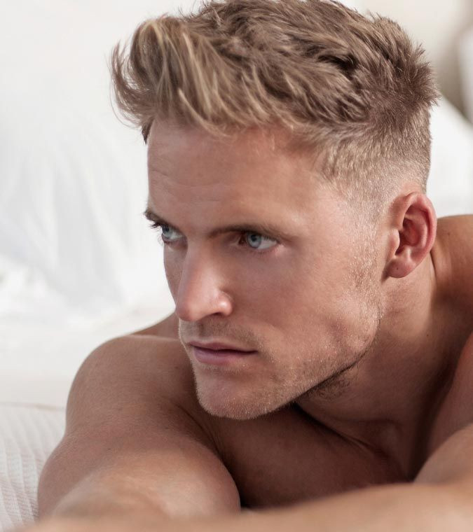 Best ideas about Mens Short Blonde Hairstyles . Save or Pin Best 25 Blond men ideas on Pinterest Now.
