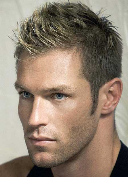 Best ideas about Mens Short Blonde Hairstyles . Save or Pin Men Short Hairstyle Ideas SAIMA BEAUTY SALON AND EASY Now.