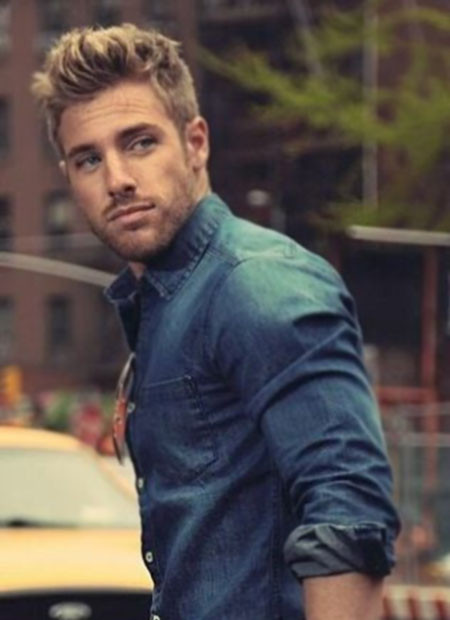 Best ideas about Mens Short Blonde Hairstyles . Save or Pin 34 DASHING HAIRCUTS FOR MEN Godfather Style Now.