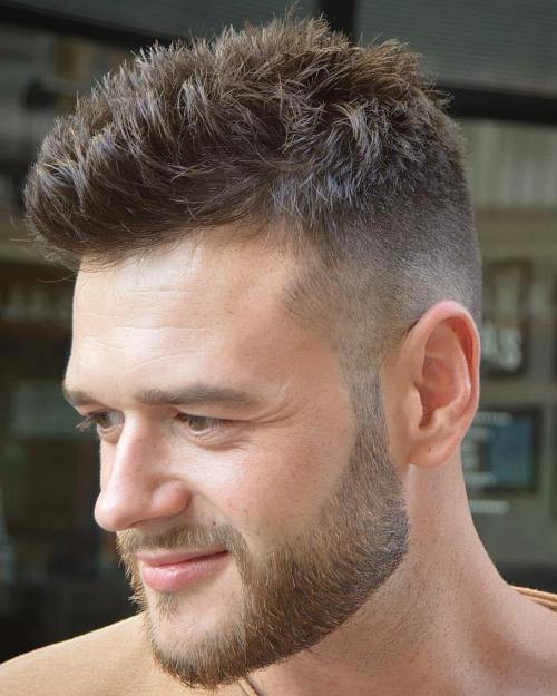 Best ideas about Mens Spiky Haircuts . Save or Pin 30 Spiky Hairstyles for Men in Modern Interpretation Now.