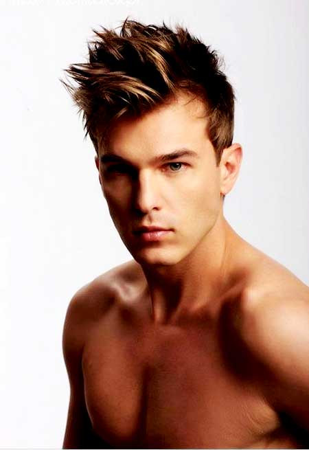 Best ideas about Mens Spiky Haircuts . Save or Pin Spiky Hairstyles for Men Now.