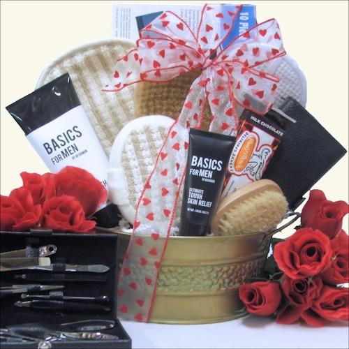 Best ideas about Mens Valentine Gift Ideas . Save or Pin Men Valentine Gift Baskets for Him Valentine Gift Ideas Now.
