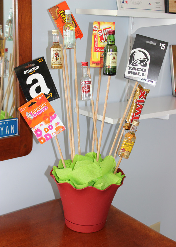 Best ideas about Mens Valentine Gift Ideas . Save or Pin DIY Valentine s Day Gift A Man Bouquet Now.