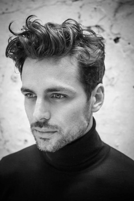 Best ideas about Mens Wavy Hairstyles . Save or Pin Short Curly Hair For Men 50 Dapper Hairstyles Now.