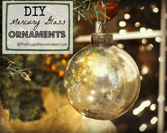Best ideas about Mercury Glass DIY . Save or Pin DIY Mercury Glass Ornaments Now.