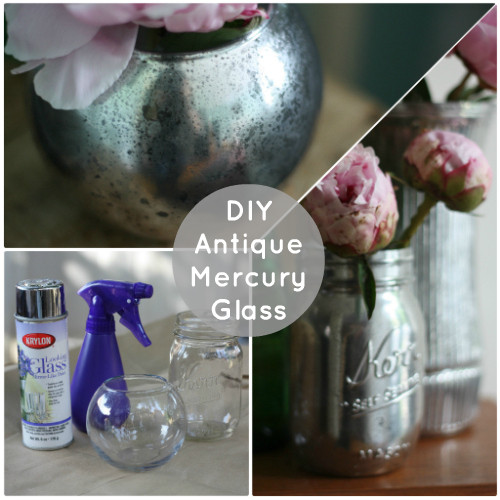 Best ideas about Mercury Glass DIY . Save or Pin How To DIY Antiqued Mercury Mirror Glass Now.