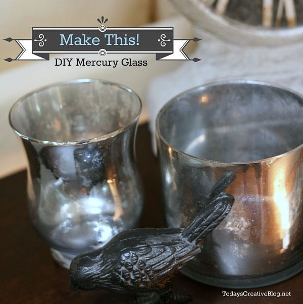 Best ideas about Mercury Glass DIY . Save or Pin DIY Mercury Glass Tutorial Now.