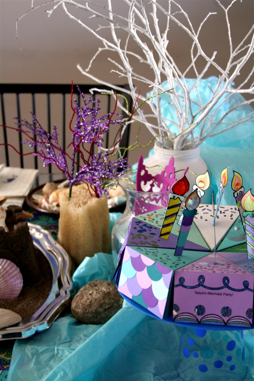 Best ideas about Mermaid Birthday Party Decorations . Save or Pin mermaid party decorations Now.