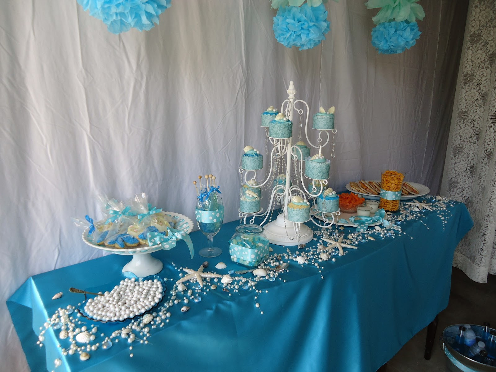 Best ideas about Mermaid Birthday Party Decorations . Save or Pin Tammy s Heart Mermaid Birthday Party Now.