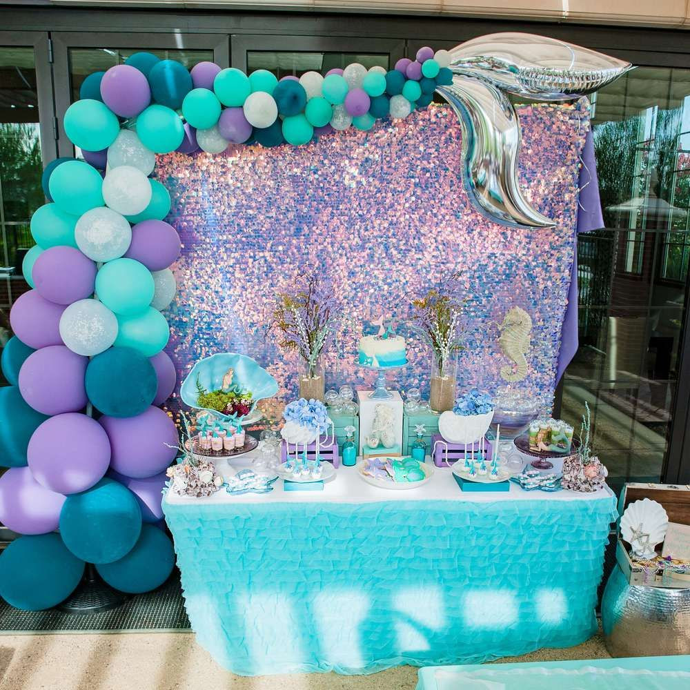 Best ideas about Mermaid Birthday Party Decorations . Save or Pin Mermaid Birthday Party Ideas in 2019 Now.