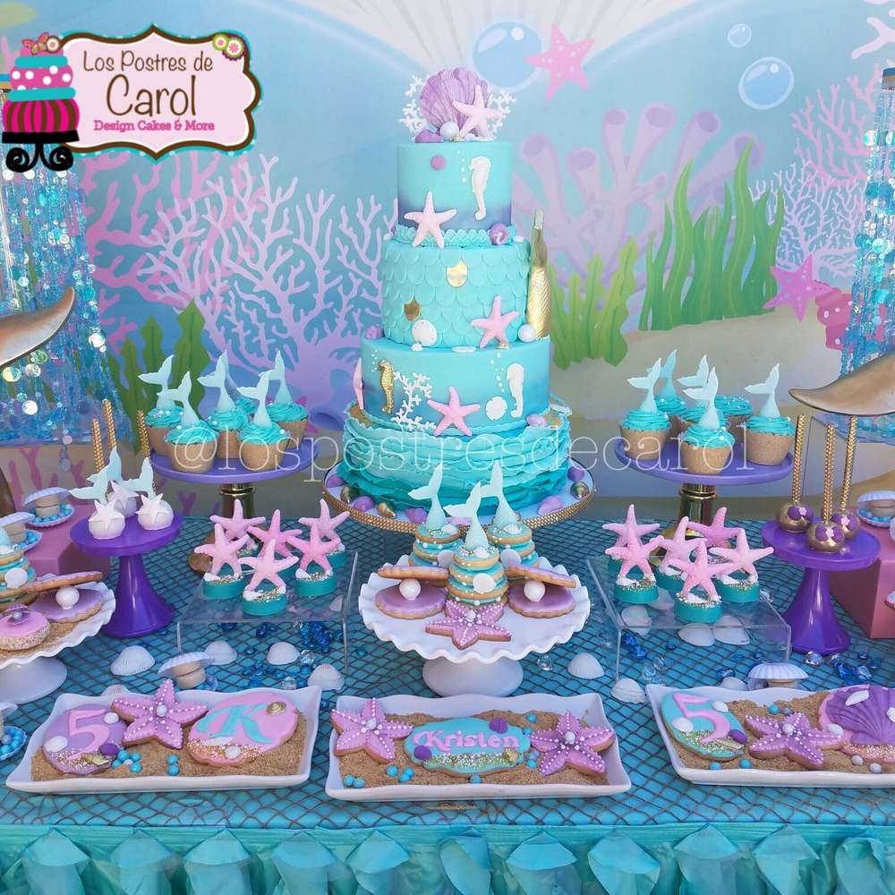 Best ideas about Mermaid Birthday Party Decorations . Save or Pin Mermaids Birthday Party Ideas 1 of 7 Now.