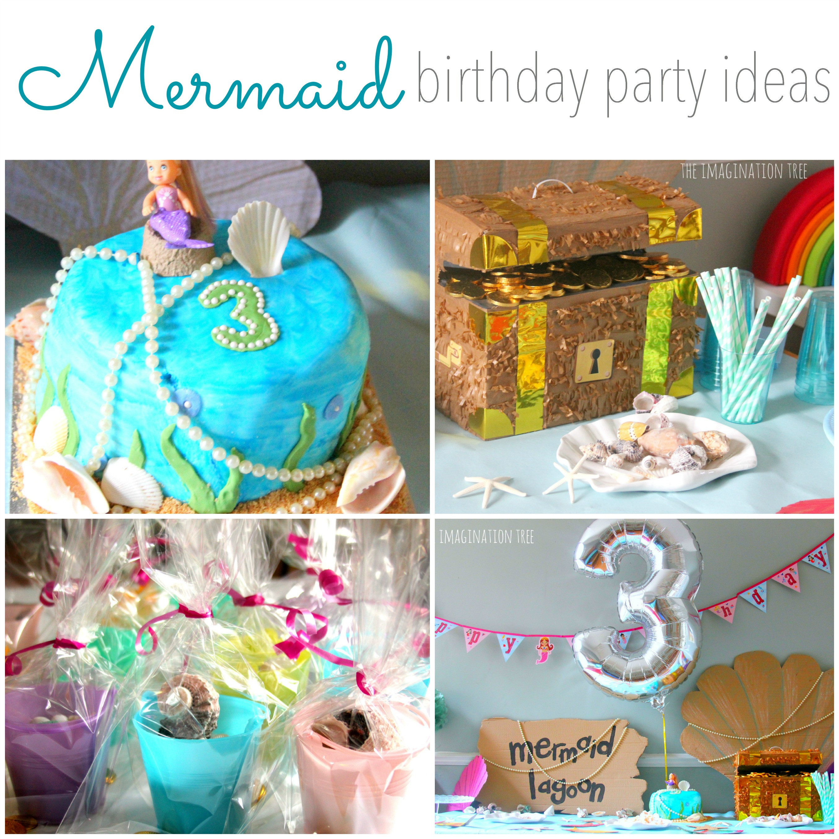 Best ideas about Mermaid Birthday Party Decorations . Save or Pin Mermaid Birthday Party Ideas The Imagination Tree Now.